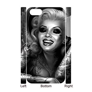 zombie marilyn monroe CUSTOM 3D Case Cover for iPhone 4,4S LMc-07405 at LaiMc