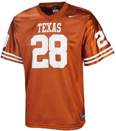 Nike Texas Longhorns # 28 Juventud Naranja réplica de Camiseta de ...