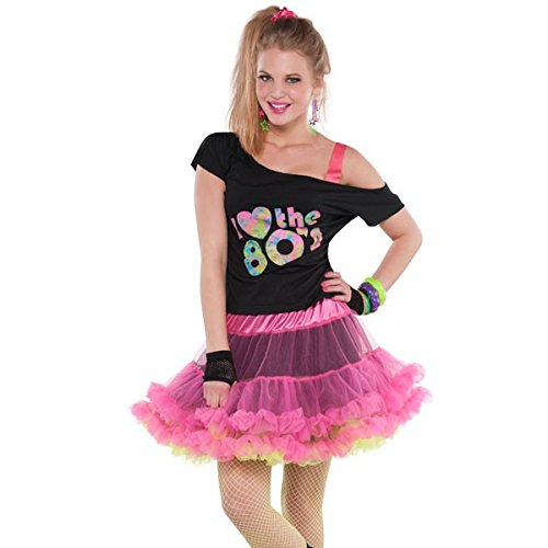 Reversible 80s Skirt Costume Accessory Standard
