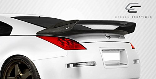 Carbon Creations ED-UHC-579 N-2 Wing Trunk Lid Spoiler - 1 Piece Body Kit - Compatible For Nissan 350Z ()