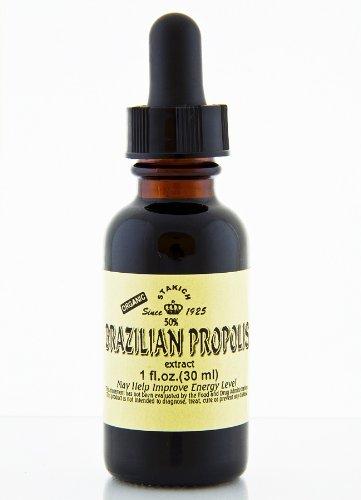 Stakich BRAZILIAN PROPOLIS 1 oz Liquid Extract, 50% - Top Quality