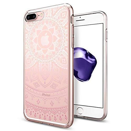 【Spigen】 スマホケース iPhone8 Plus ケース/iPhone7 Plus ケース 対応 TPU 超薄型 超軽量 リキッド?クリスタル 043CS20960 (シャイン?ピンク)