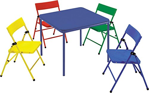 Safety 1st 5-Piece Kid Table and Chair Set by Cosco