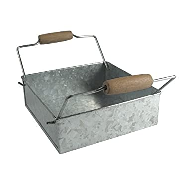 Oasis Napkin Holder, Galvanized