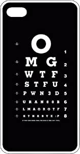 OMG WTF STFU Eye Chart Clear Rubber Case for Apple iPhone 5 or iPhone 5s