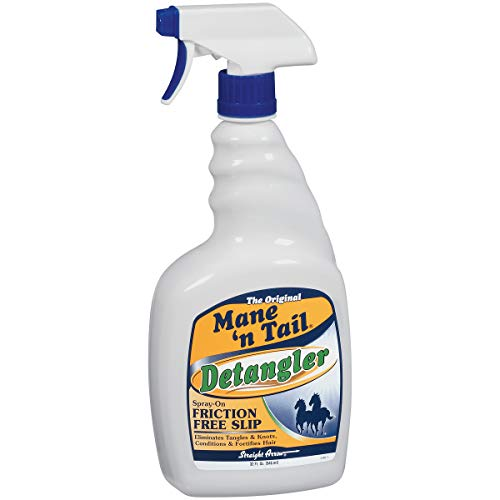 Mane 'n Tail Detangler ElIMINATES TANGLES & Knots 32 Ounce Sprayer