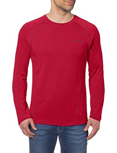 VAUDE Herren Signpost LS T-Shirt, Indian Red, L