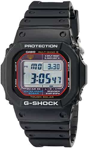 Casio Men's G-Shock GWM5610-1 Tough Solar Black Resin Sport Watch