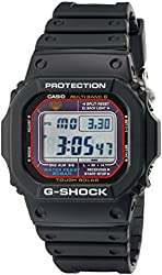 G-Shock GWM5610-1 Men's Solar Black Resin Sport Watch