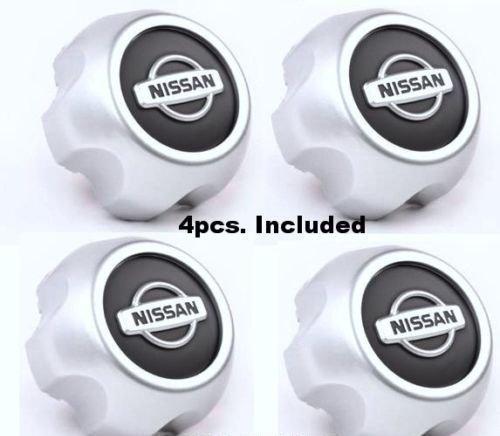(New 2000-2004 Nissan Xterra Frontier Wheel Center Hub Cap 40315-7Z100 SET of 4)