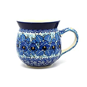 Polish Pottery Mug – 15 oz. Bubble – Unikat Signature U3639