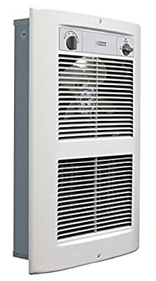 King Electric LPW2445T-S2-WD-R 4500W 240V Large Pic-A-Watt Series 2 Decorative Wall Heater, White Dove