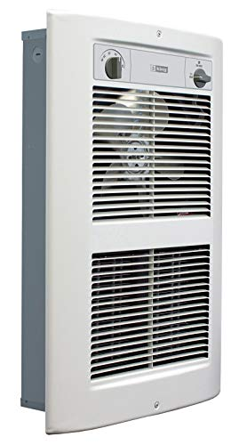 King Electric LPW2445T-S2-WD-R 4500W 240V Large Pic-A-Watt Series 2 Decorative Wall Heater White ()