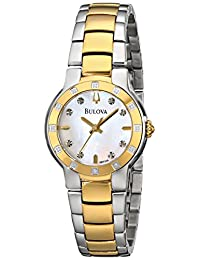Bulova Women's 98R168 Diamond Case Watch