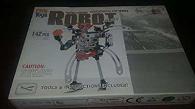 Totally Cool Toys Educational Toy Series Intelligent Robot DIY Kit (142 Pieces)