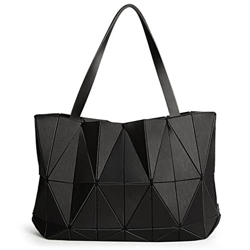736295988 El servicio durable kaoling Bolsos luminosos de la geometría de las mujeres  Bolsos plegables del color