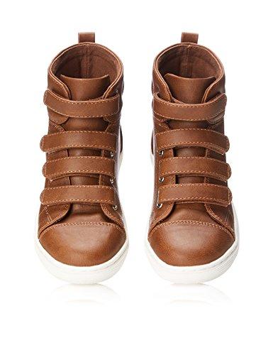 RED WAGON Jungen Stiefel Sneaker Braun (Tan)