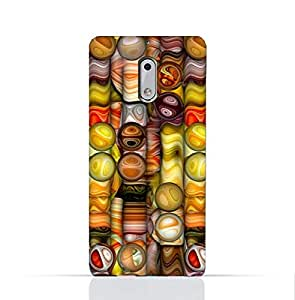 Nokia 6 TPU Silicone Case with Abstract Bubble Background