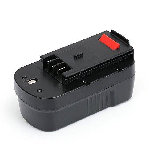 PowerGiant 18V 2.0Ah NiCd Battery Pack for Black & Decker HPB18 HPB18-OPE 244760-00 FSB18 FS180BX FS18BX A1718 NST2118 ()