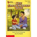 Jessi's Secret Language, Ann M. Martin, 0590415867