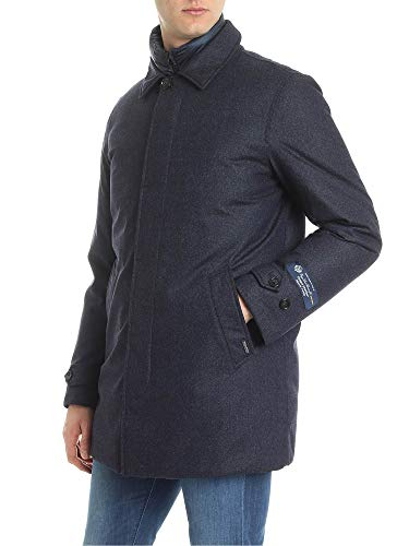 Giacca Woolrich Outerwear Blu Wocps2754lp063989 Uomo Lana vqZwCqr