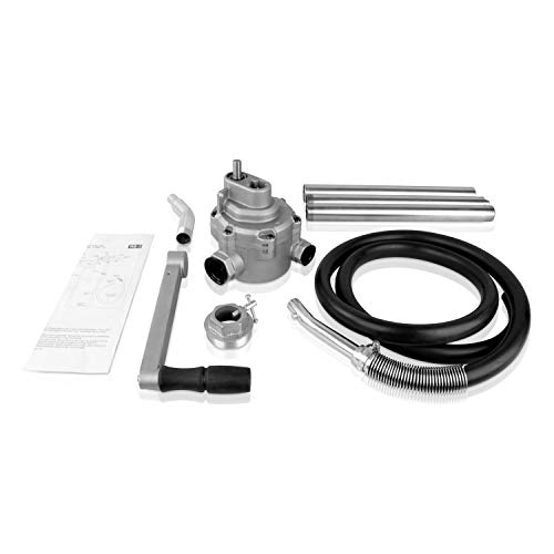 TERAPUMP Professional Fast Flow Rotory Aluminum Contructed Barrel Pump with Telescopic Suction Tube for 15-55 Gallon Drums by TERA PUMP (Image #3)
