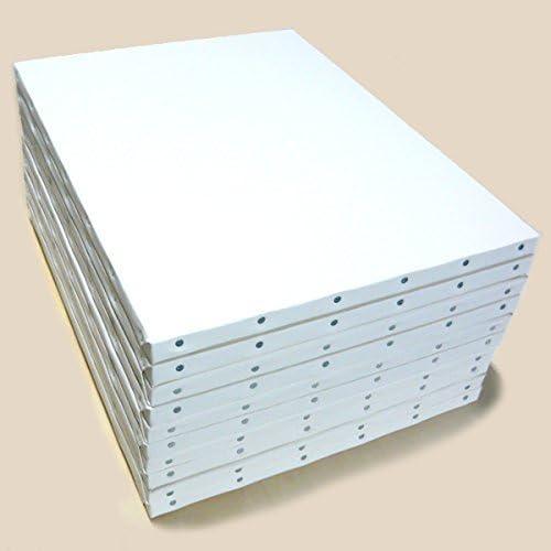 ホワイト 張りキャンバス KF F6 桐木枠