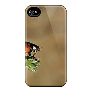 Fashion IcLEAoG549oMYdn Case Cover For Iphone 4/4s(ladybug)