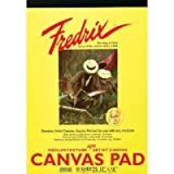 3 Pack 10'' x 12'' White Canvas Pad (Product Catalog: Paper Media, Canvas & Surfaces)