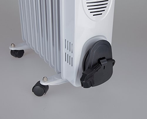 JATA R109 - Oil Filled Radiator with 9 Heating Elements ...