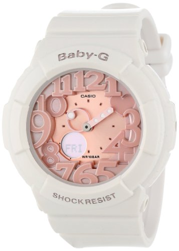 Casio Women's BGA131-7B2 Baby-G Rose Gold and White for sale  Delivered anywhere in Canada