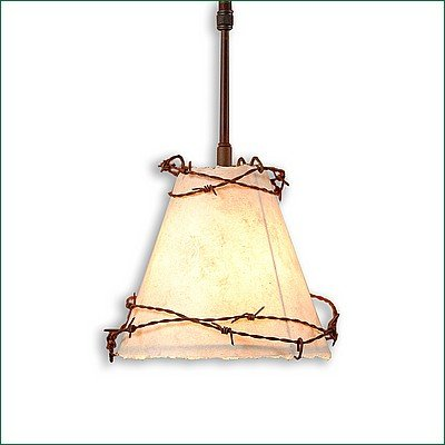 (Pendant Light Adirondack Unique Handmade in USA | Sunderland Pendant - Small | A21318-ST-02 | Avalanche Ranch Lighting)