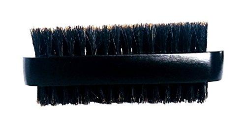 Boar Bristle Brush,Beard Brush, Hair Brush Smooth & Shine Double Sided