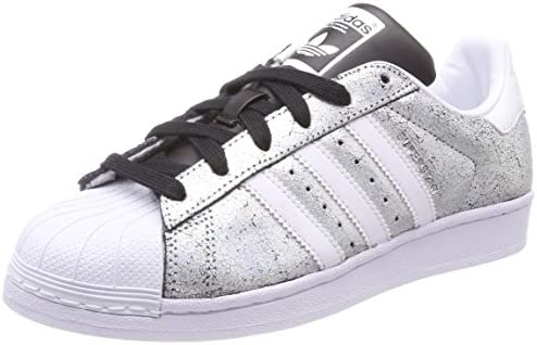 new style 88c99 dbb1d Adidas Superstar Women's Sneakers, Grey, 6.5 UK (40 AE ...