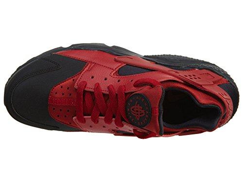Nike Herren Air Huarache Schwarz / Gym Rot
