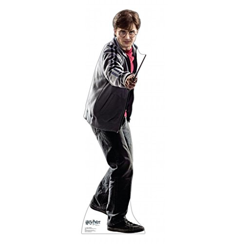 Harry Potter in Jacket with Wand Standee