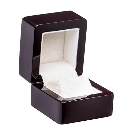 Allure Regal Earring Box, Rosewood