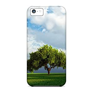 Awesome Tree Flip Case With Fashion Design For Iphone 5c