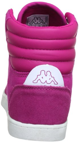 Kappa KOREA MID 241638 - Zapatillas de lona unisex Multicolor (Mehrfarbig (2210 PINK/WHITE 2210 PINK/WHITE))