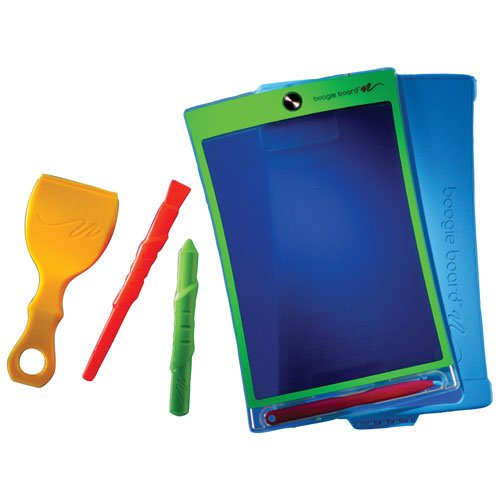 Magic Sketch Deluxe KIT | LCD Writing Board, Drawing, Doodle, Learning Tablet | Includes Protective Cover, 60 Stencils, 4 Styluses, 1 Stamp Roller & 3 Stamps | Kids, Office, School, House, Car Rides by Boogie Board (Image #6)