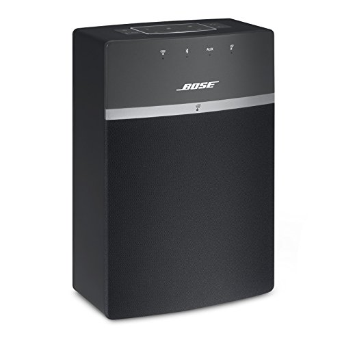 - Bose SoundTouch 10 wireless speaker, works with Alexa, Black