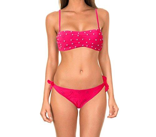 coppe a Costume 42 applicazioni in Fucsia Flawless 16308 con bikini 44 perle fascia removibili mws mod 1Hvwqgwa