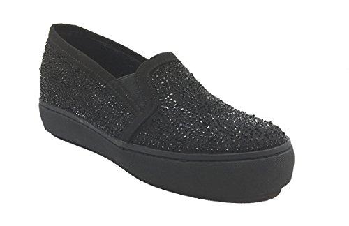SARA LOPEZ - Zapatos de cordones de Piel para mujer negro