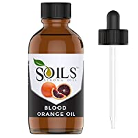Strong Oils 100% Pure Cold Pressed Blood Orange Oil 4 Oz (118 Ml) Essential Oil