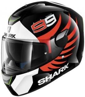 Negro y naranja talla XL Shark casco integral Spartan karken Hi-Vis