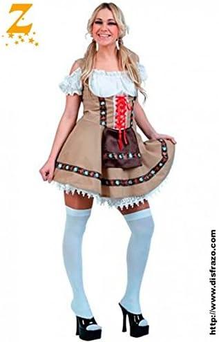 Disfraz Tirolesa Adulta: Amazon.es: Ropa y accesorios