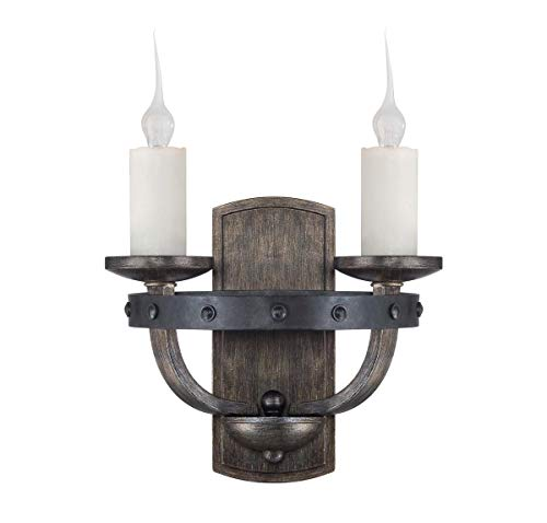 Savoy House 9-9535-2-196 Alsace 2-Light Wall Sconce in Reclaimed Wood Finish
