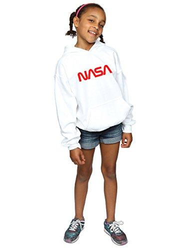 con Cult Nasa Modern bianca Felpa Logo cappuccio Girl Absolute zYqwdHW