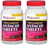 Walgreens Antacid Chewable Tablets Multi-Symptom, ...