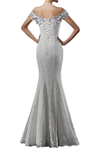 Prom Style Damen Glamour Spitze PackungSchulter Abendkleider ...